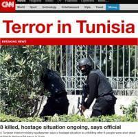 Tunisi, attacco nel museo: la notizia sui siti stranieri