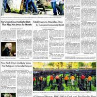 Attentato Tunisi, le prime pagine dei giornali di tutto il mondo
