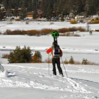 Lo zaino-fotocamera di Google studierà i mutamenti climatici