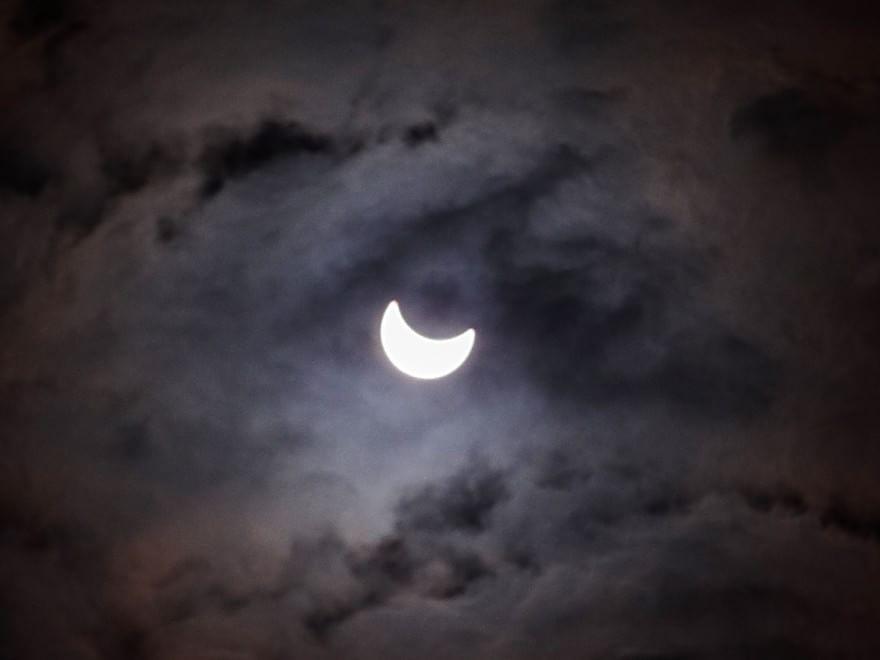 Eclissi di sole, le foto dei lettori / 14