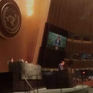"""Tardelli, lezione all'Assemblea dell'Onu: """"La mia partita più difficile"""""""