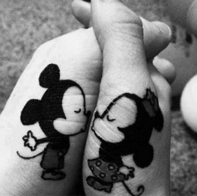 Tatuaggi Di Coppia Quando L Amore E L Inchiostro Sono Per Sempre