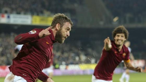 Cesena-Roma 0-1, De Rossi rialza i giallorossi