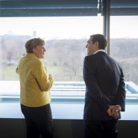 Vertice Germania-Grecia: Merkel accoglie Tsipras a Berlino