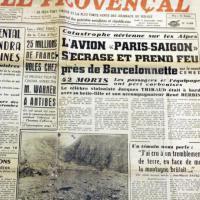 Disastro Germanwings, un altro aereo precipitato nello stesso luogo nel 1953