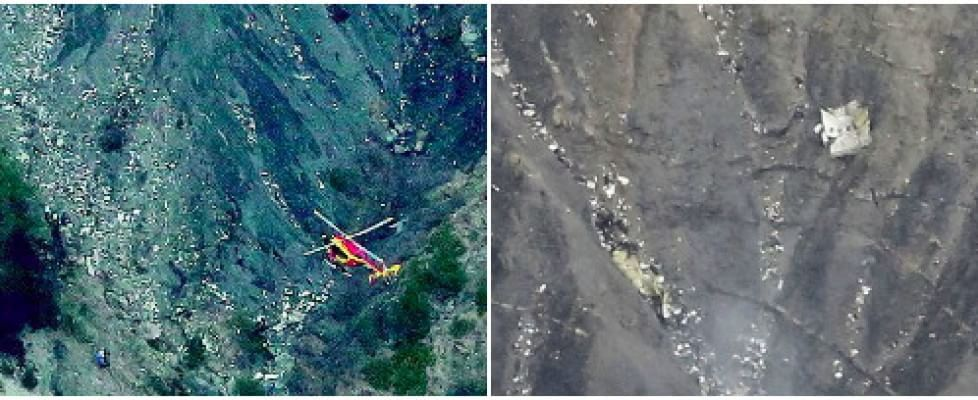 Francia, volo Germanwings cade su Alpi francesi. Nessun superstite tra i 150 passeggeri