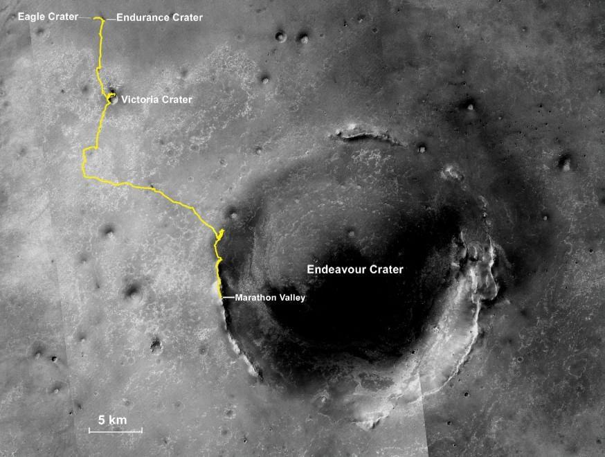 """Una maratona su Marte, Opportunity taglia il """"traguardo"""""""