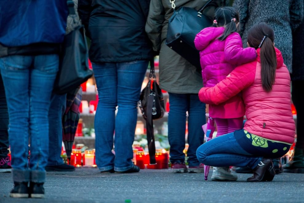 Disastro Germanwings, le candele al Joseph-Koenig college
