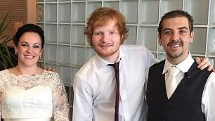 Matrimonio con sorpresa Ed Sheeran canta per gli sposini