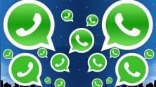 WhatsApp, telefonate  su iPhone.  E con 30 mln di messaggi  sorpassa gli sms