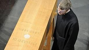 Nuova tomba per Riccardo III  dopo cinque secoli  -   video