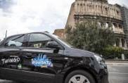 La carovana delle 100 Twingo di #GuidaTu arrivano a Roma