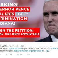 Indiana, la legge anti-gay scatena proteste e petizioni