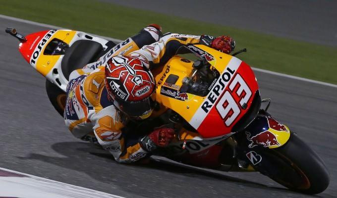 MotoGp, Qatar: è ancora Marquez, Rossi e la Yamaha in ritardo