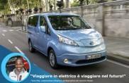 Fiona May e la nuova Nissan Evalia 7 posti Viaggiare in elettrico è viaggiare nel futuro