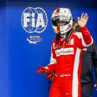 F1, Vettel si gode la prima fila: