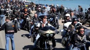 Il rombo delle Harley accende l'Idroscalo
