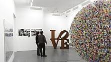 Mecenati a Locarno Ecco il cubo dell'arte   foto   con Basquiat e Botero