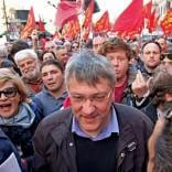 Coalizione Sociale sfida il governo Via al corteo di Roma /   diretta tv