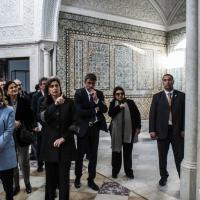 Boldrini a Tunisi: 'Non cancellare segni al Bardo, la memoria insegna'