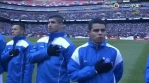 L'inno è sbagliato: calciatori di El Salvador sconcertati