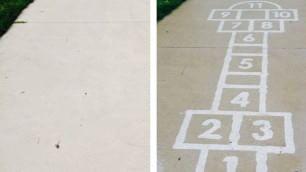 La street art invisibile si vede solo sul bagnato