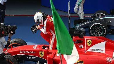 F1, Ferrari show al Gp di Malesia Vettel domina, Hamilton battuto
