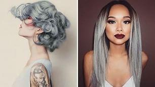 Cinquanta sfumature di grigio  in testa il colore non ha più età