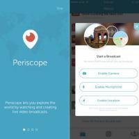 Periscope, come si usa l'app per gli streaming video