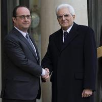 """Mattarella: """"Con la Francia per una politica di crescita"""""""