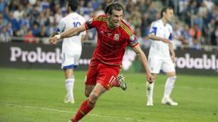 Bale, la freccia   foto   palla al piede a 37 km/h