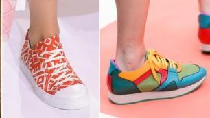 Boom di colore: le sneakers di primavera sono shock