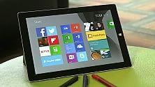 Microsoft Surface 3, adesso più leggero e meno costoso  di LUCA DE VITO