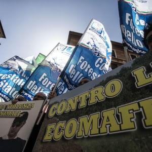 """Forestale, sit-in a Roma: """"No allo smembramento"""""""