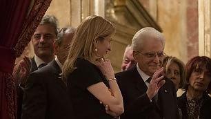Opera, ricordando Ronconi la 'prima' di Lucia di Lammermoor    Foto: applausi per Mattarella