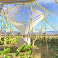 La tenda orto che combatte la siccità in Africa