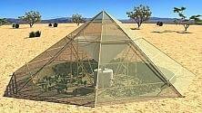La tenda orto per combattere la siccità  di RAFFAELLA SPIZZICHINO