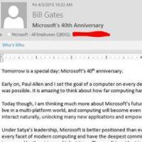 40 anni di Microsoft: la visione di Bill Gates