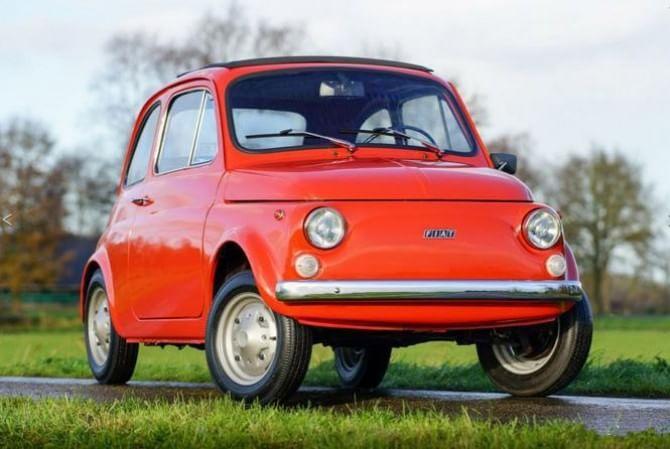 Quotazione record per una 500: modello del 1975 in vendita a 42.500 euro