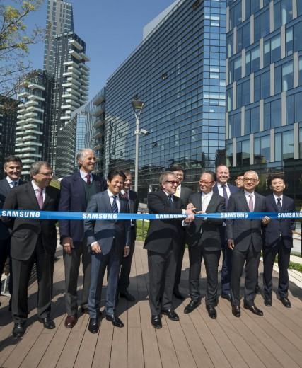 "Samsung District apre nel ""Diamantino"" a Milano"