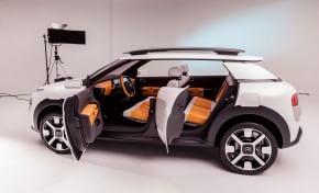 Citroën C4 Cactus fra arte e design