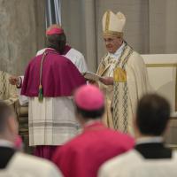 Giubileo, la consegna della bolla papale