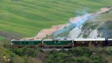 Sul treno dei primi '900 per la Val d'Orcia Parte il progetto Fs-Mibact  foto    di GAIA RAU
