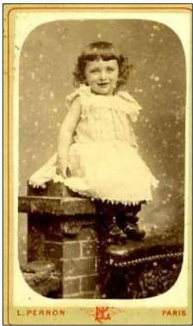 Edith Piaf bambina, la foto ritrovata