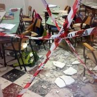 Crolli nelle scuole: Ostuni è l'ultimo di una lunga serie. Tutti i casi più recenti