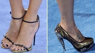 Quando la scarpa fa la star  indovina   di chi sono questi piedi