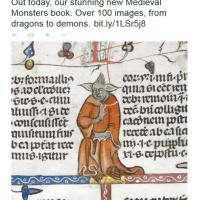 Inghilterra, il monaco nel manoscritto medievale sembra Yoda
