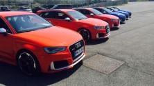 In pista con la nuova Audi RS3 -   Video    -    Foto