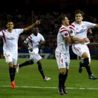 Europa League: il Siviglia vince in rimonta, il Dnipro blocca il Bruges