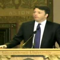 """Renzi: """"Italia come la bella addormentata, Italicum approvato a breve"""""""
